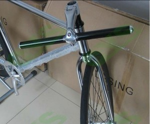 manubrio bici fixed gear
