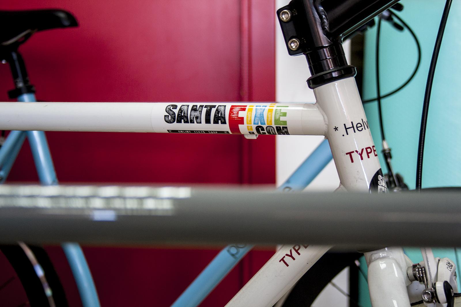santafixie fixed bike